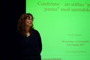 Eva Cronqvist, forskare på Linnéuniversitet, Växjö