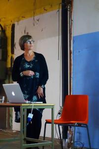 Tina Carlsson, lektor på IBIS Konstfack